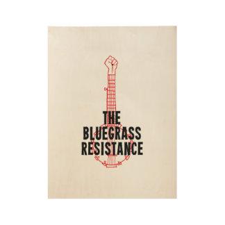Poster de madera del arte de la resistencia del