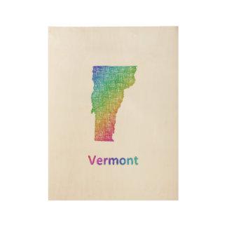 Póster De Madera Vermont