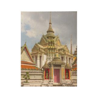 Póster De Madera Wat Pho, Bangkok, Tailandia