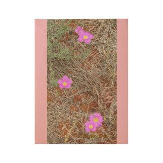 Póster De Madera Wildflowers australianos