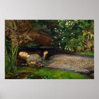 Poster de Millais Ofelia CC0008 Póster