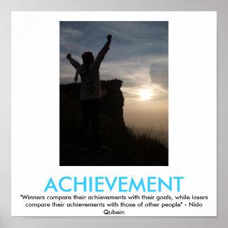 Poster de motivación del LOGRO