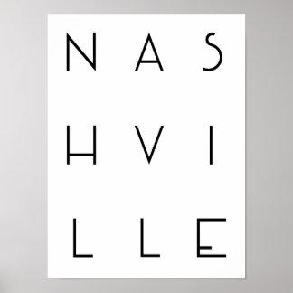 Poster de Nashville Póster
