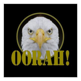 POSTER DE OORAH EAGLE