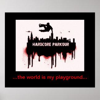 Poster de Parkour Póster