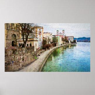 Poster de Passau, Alemania Póster