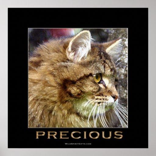 Poster DE PELO LARGO PRECIOSO del arte del CAT de