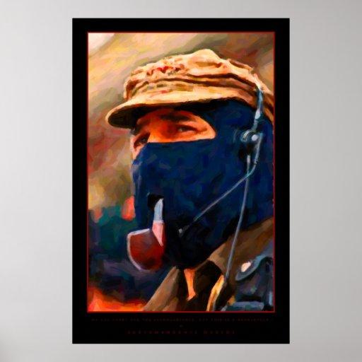 Poster de subcomandante marcos zazzle - Marcos para posters ...