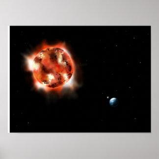 Poster de Sun, de la tierra y de la luna Póster