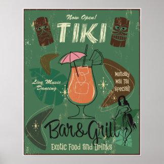Poster de Tiki Bar&Grill Póster