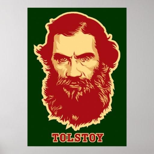 Poster de Tolstoy