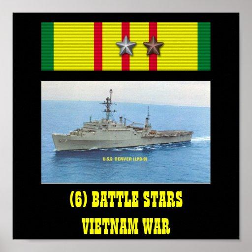 POSTER DE USS DENVER (LPD-9)