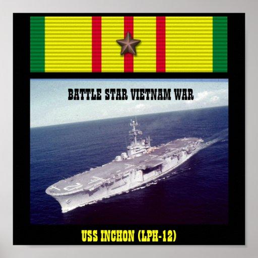 POSTER DE USS INCHON (LPH-12)