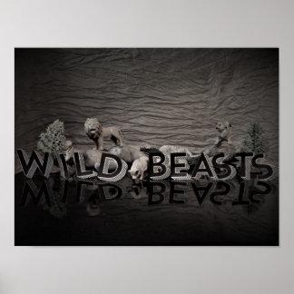 Poster de WildBeasts de los niños Póster
