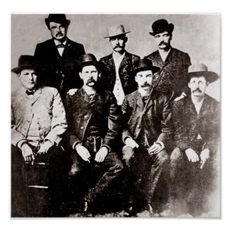 Poster de Wyatt Earp del vintage