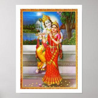Póster Dedicación a Radha Krishna