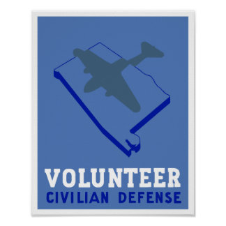 Póster Defensa del civil de Alabama -- WPA