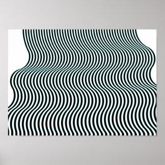 Poster del algoritmo de la corriente 06 del arte
