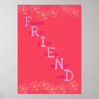 Poster del amigo