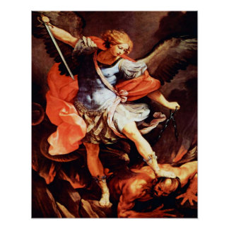 Poster del arcángel 02A de San Miguel Póster