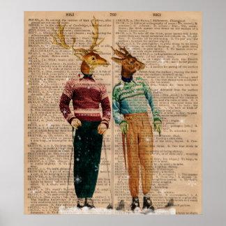 Poster del arte de la página del diccionario de lo
