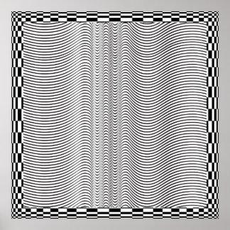 Poster del arte de Op. Sys. de la forma de onda