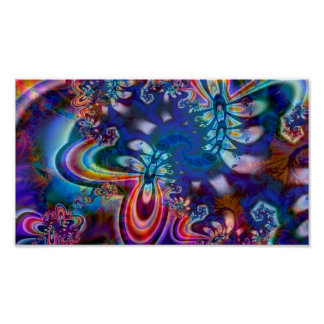 Poster del arte del fractal R5K4