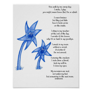Poster del arte del poema de Awarness de la