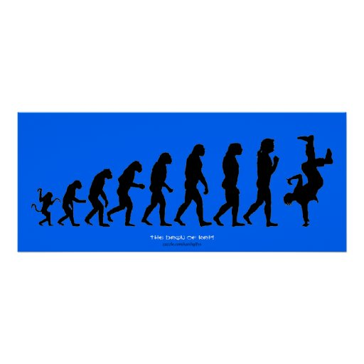 """Poster del arte del RAP de Darwin """"el amanecer"""""""