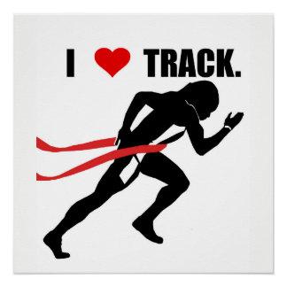 Poster del atletismo