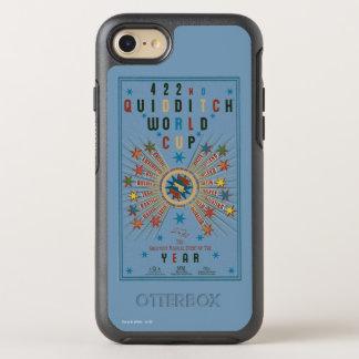 Poster del azul del mundial de QUIDDITCH™ Funda OtterBox Symmetry Para iPhone 8/7