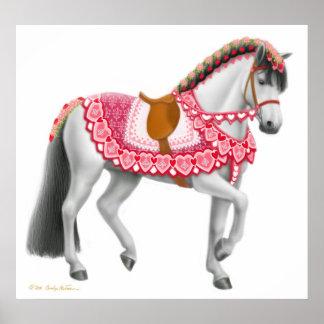 Poster del caballo del desfile del día de San Póster
