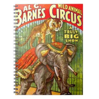 Poster del circo cuaderno