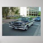 Poster del coche de Dodge del vintage
