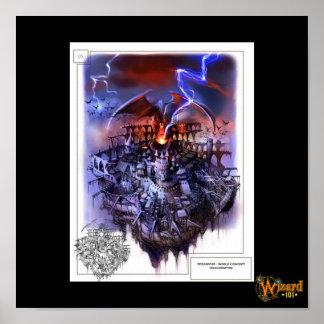 Poster del concepto de Wizard101 Dragonspyre
