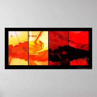 Poster del concepto del fragmento