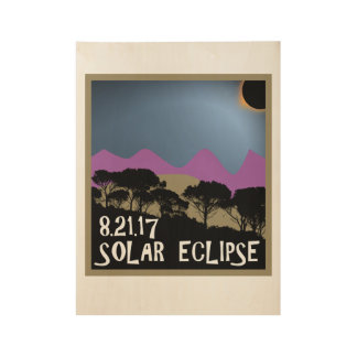 Poster del eclipse solar 8.21.17