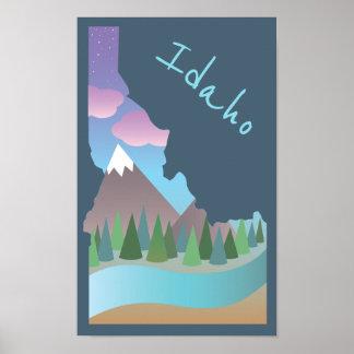 Poster del ejemplo de Idaho Póster