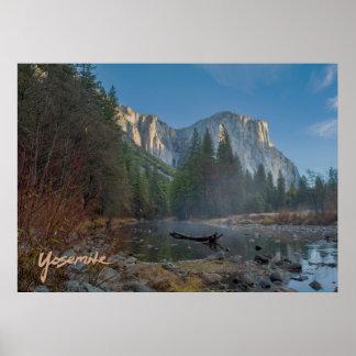 Poster del EL Capitan Yosemite