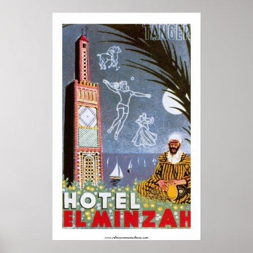 Poster del EL Minzah del hotel