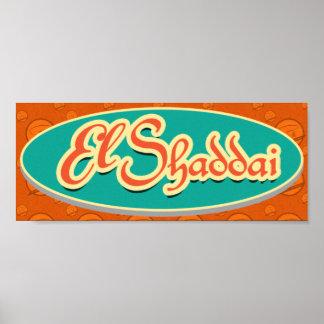 Poster del EL Shaddai