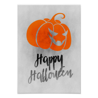 Poster del feliz Halloween - arte de Halloween del