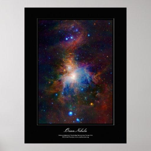 Poster del galería-estilo de la nebulosa de Orión
