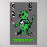 ¡Poster del gatito del vudú!