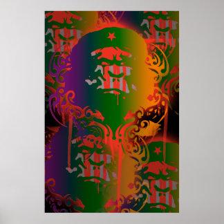 Poster del gorila de Che