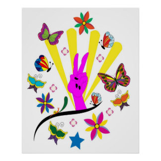 poster del hippie