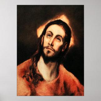 Poster del Jesucristo de El Greco