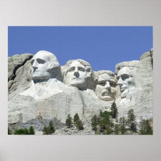 Poster del monte Rushmore Póster