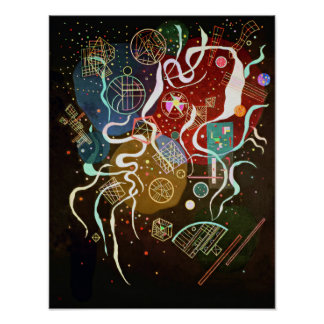 Poster del movimiento I de Kandinsky Póster
