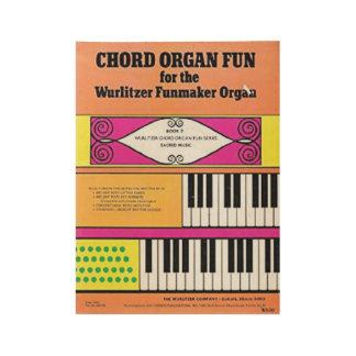 Poster del órgano de Funmaker del libro de los